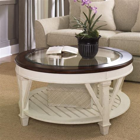 Ikea billsta table top white 001.135.92 new 27 1/2x23 5/8 leg/base not included. 8 Cottage Style Round Coffee Tables Pics