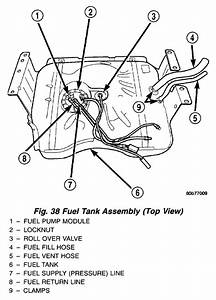 Jeep Grand Cherokee  Gas Tank  Pull  The Filter Hoses