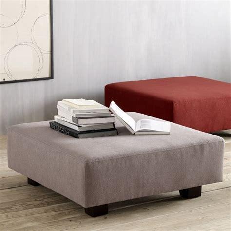 ottoman west elm living room ottomans x2 tillary ottoman cushions