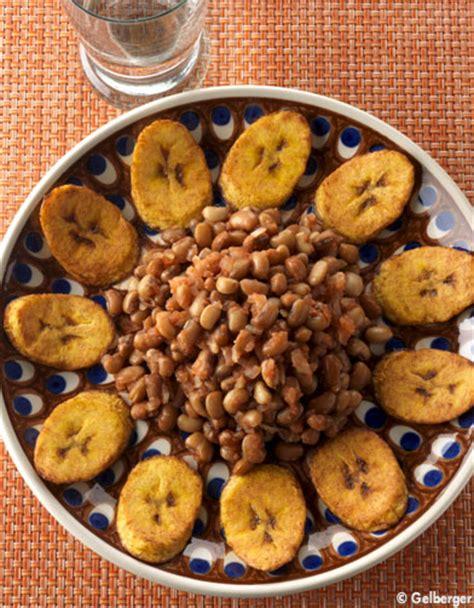 cuisiner des bananes plantain haricots à la banane plantain pour 2 personnes recettes