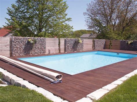 Sichtschutz Garten Pool by Gabione Als Sichtschutz Am Pool Garten