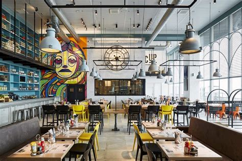 modern industrial style   trendy  colourful paris