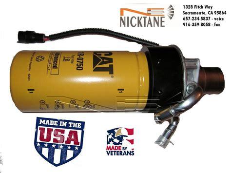 duramax cat fuel filter adapter  filter  diesel