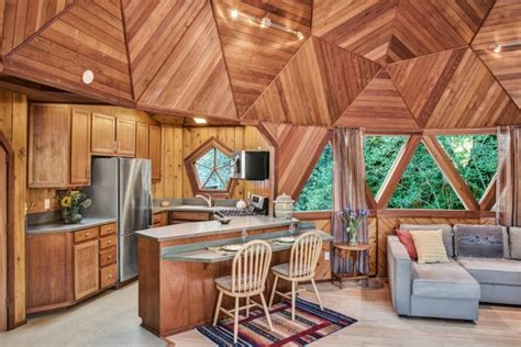 incredible geodesic dome home