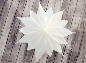 Butterbrotpapier Sterne Vorlage : diy sterne aus butterbrotpapier und tapete diy ~ Watch28wear.com Haus und Dekorationen