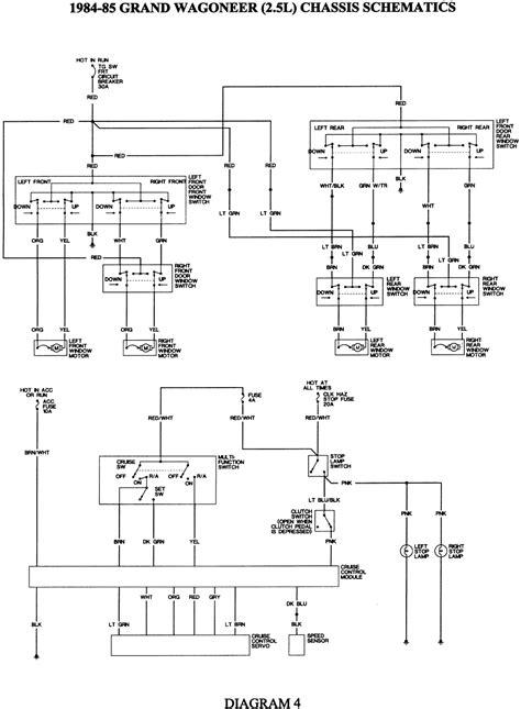 1986 Jeep J10 Wiring Diagram by Repair Guides Wiring Diagrams See Figures 1 Through