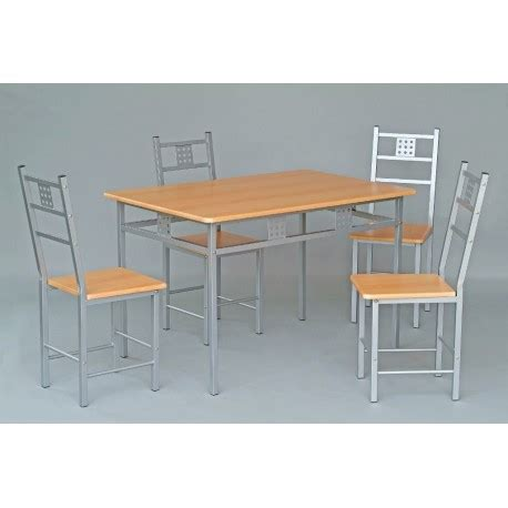 ensemble table de cuisine ensemble table et 4 chaises de cuisine panel meuble