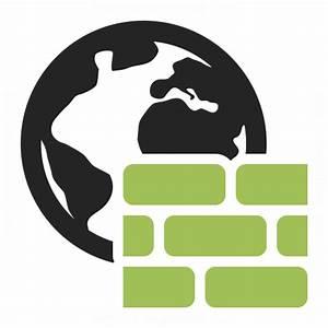 Firewall Icon  U0026 Iconexperience