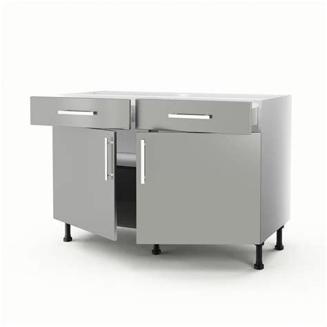 meuble bas de cuisine 120 cm meuble de cuisine 120 cm hoze home