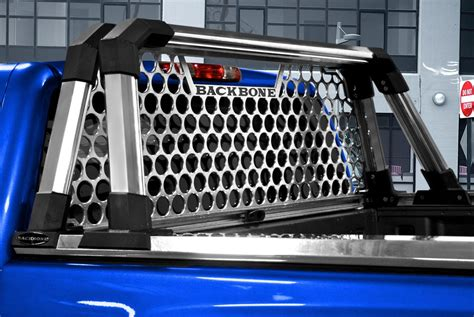 aluminum headache rack truck headache racks louvers mesh ladder rack light
