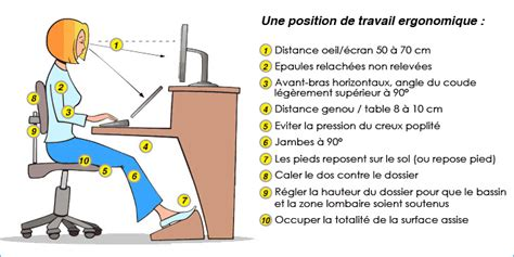 position bureau ergonomique cervicalgie etirements conseils d 39 hygiènes agde hérault