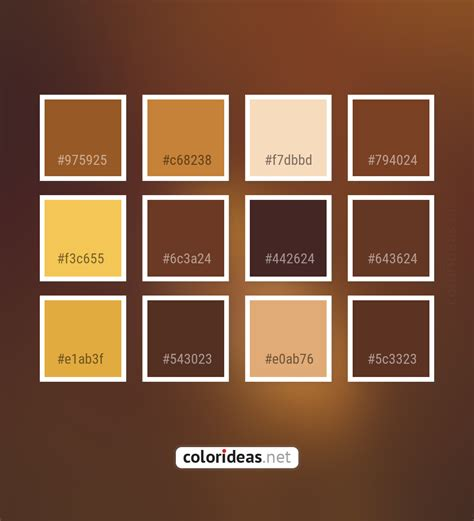 Colors included in this palette similar to brown, brown derby, cape palliser, dark gray / smoked, dark olive green, dark olive green and dark olive green, dark olive green and sienna, grain brown, gray, old copper, pickled bean,. Paarl Brown Yellow Sandy Brown Color Palette | Color palette ideas