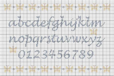 modele lettre point de croix gratuit grilles gratuites abecedaires