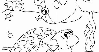 Sea Coloring Under Pages Printable Creatures Deep