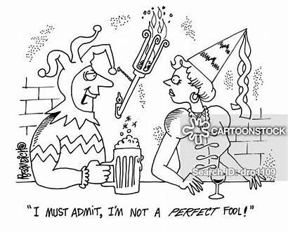Modesty False Cartoon Cartoons Cartoonstock Foolish Comics