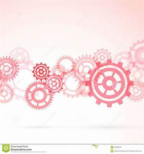 Red Gear Modeling Background Template Stock Vector - Image ...