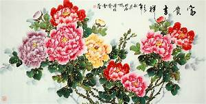 Chinese painting, Peonies and Chinese on Pinterest