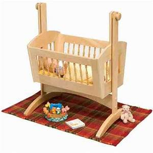 Doll Cradle Plans includes free PDF download