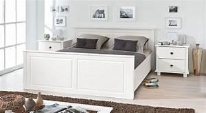 Betten Im Landhausstil : holzbett aus wei lackierter kiefer im landhausstil wien ~ Michelbontemps.com Haus und Dekorationen