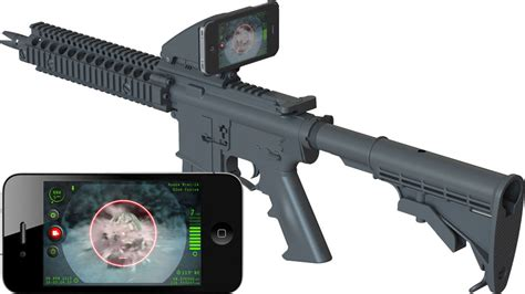 iphone scope adapter inteliderp iphone rifle scope adapter