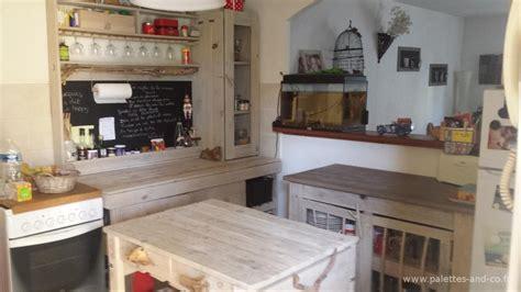 fabriquer ilot central cuisine comment fabriquer un îlot central de cuisine en palettes