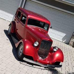 1934 Plymouth 4 Door Sedan Streetrod Hot Rod Classic