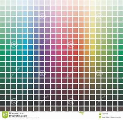 Library Colors Royalty Vector Palette Cmyk Colour