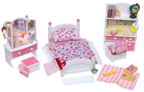 calico critters bedroom calico critters pink bedroom set b00005bv9w