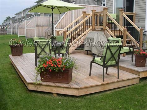 Simple Two Level Decks Ideas Photo by Simple Deck Designs Ideas Studio Design Gallery