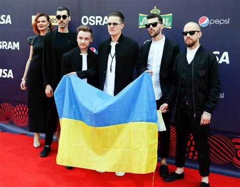 O.Torvald rock band from Ukraine | Eurovision 2017: Opening ceremony | Pictures | Pics | Express ...