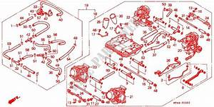 Carburetor  Ens     U0026 39 94  U0026 39 97  For Honda Vfr 750 1994   Honda