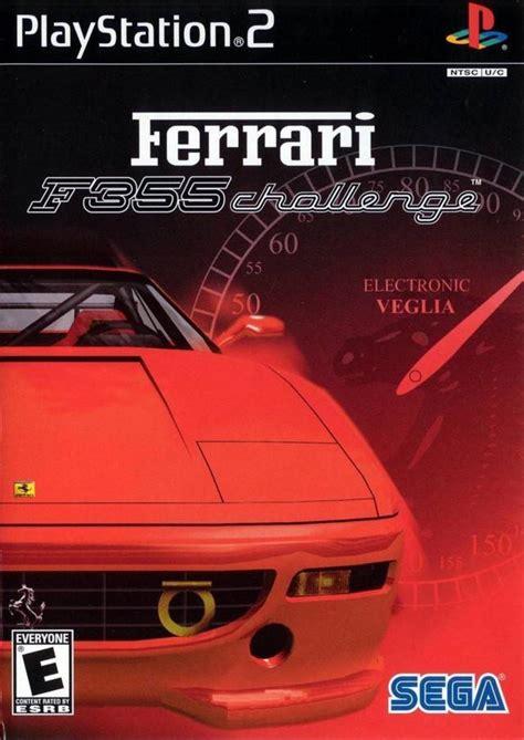 ferrari  challenge sony playstation  game