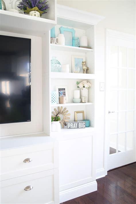 transforming  living room  ikea besta built ins
