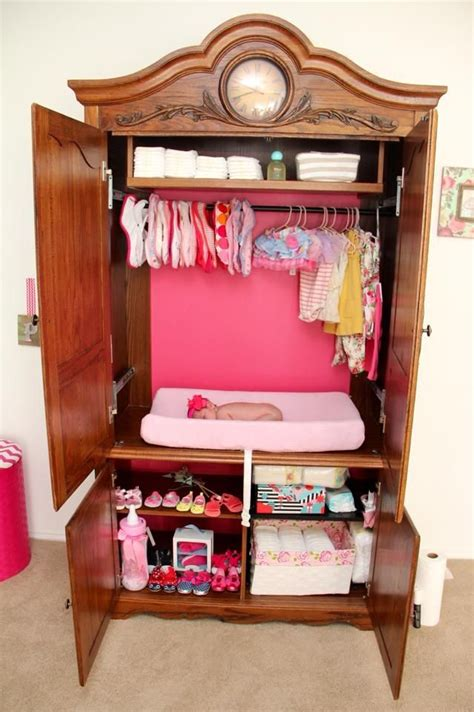Baby Armoire by Tv Armoire Repurposed Into A Changer Diy Diy