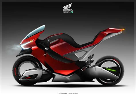 The Honda Eb-0 Electric Motorcycle