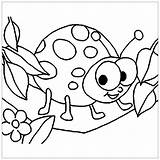 Coloring Insects Pages Printable Children Theme Justcolor sketch template
