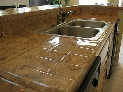 reclaimed kitchen island tile kitchen countertop pictures and ideas