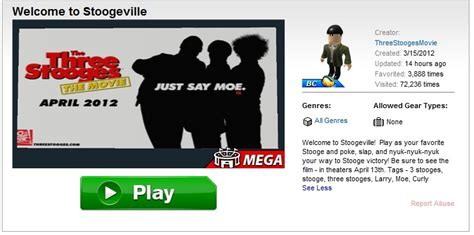 Roblox News New Roblox Event Welcome To Stoogeville