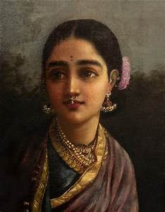Radha in the Moonlight by Raja Ravi Varma on artnet