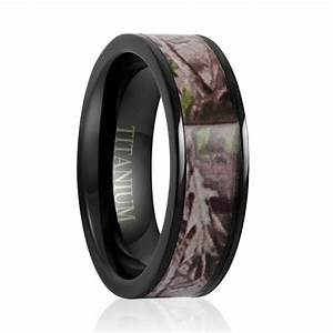 Titanium wedding band titanium ringtitanium engagement for Wedding ring black titanium