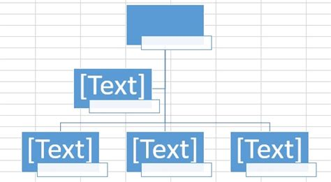 excel create organization chart access exceltips