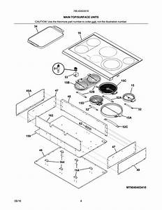 Kenmore Pro 79040403510 Electric Cooktop Parts