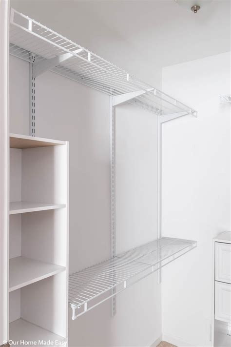 Small Bedroom Closet by Diy Small Bedroom Closet Organization Reveal Our Home
