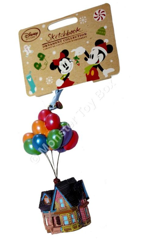house  balloons sketchbook ornament disney store