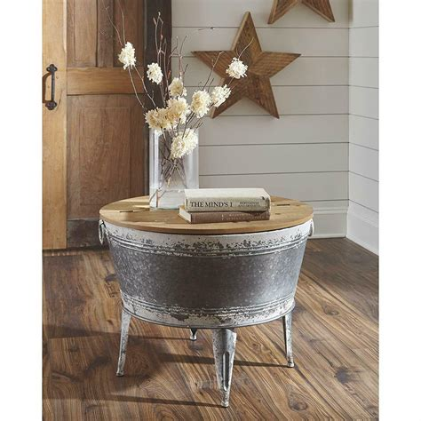 4.0 out of 5 stars 17. Rustic Farmhouse Coffee Table Storage Industrial Metal Wood Trunk Chest With Lid 704175519434 | eBay