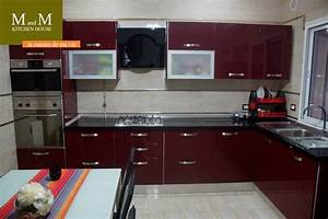 cuisine beige et rouge cobtsacom With cuisine beige et rouge