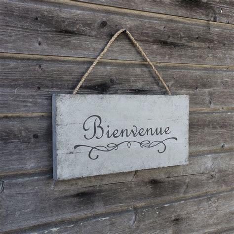 Bienvenue - Bienvenue sign - Welcome sign - Wood Wall ...