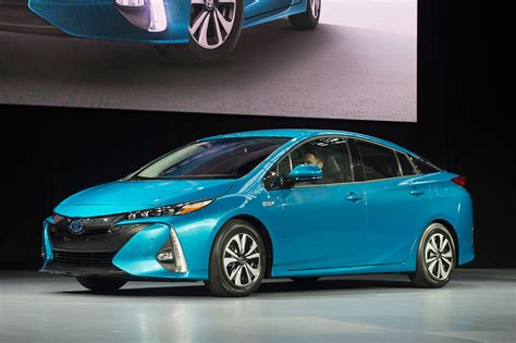 Toyotas Prius Prime Plug In Hybrid Touts 120mpge