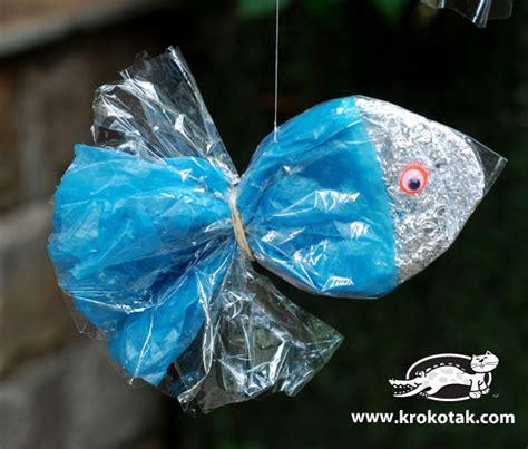 krokotak fish  cellophane