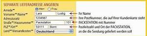 Lieferung An Postfiliale : lieferung versand an packstation online shop f r netzwerkkabel patchkabel druckerkabel ~ A.2002-acura-tl-radio.info Haus und Dekorationen